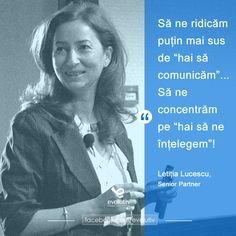 Letitia Lucescu, Senior Partner @EvolutivConsultants