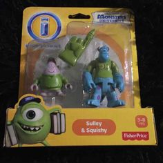Cool item: Monsters University Sulley & Squishy