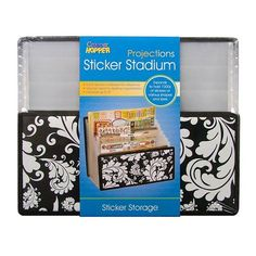 "Cropper Hopper Projections Expandable Sticker Stadium 13.375"" x 11.25"" 