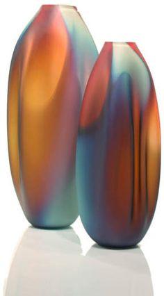 Sea Glass art Crab - Sea Glass art Fish - Sea Glass art Videos Dollar Stores - Glass art Projects How To Paint - Glass art Sculpture Texture - Blown Glass art Sculpture Videos Beautiful Blown Glass Art, Sea Glass Art, Stained Glass Art, Glass Vessel, Glass Ceramic, Mosaic Glass, Vases, Glass Art Pictures, Glass Texture