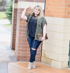 Plus Size Maurices Outfit