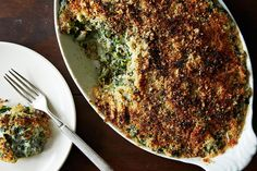 Spinach Gratin, a recipe on Food52