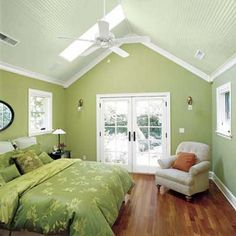 Love the vaulted bead-board ceiling! | Photo: Susan Seubert | thisoldhouse.com