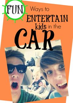 fun ways to entertain kids in the car