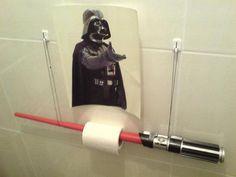 contemplating having a Star Wars bathroom