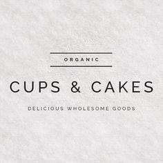 Premade Logo Design - Modern Font - Clean Simple Typography - Food Branding - Fashion Business - Sans-serif - Instant logos - Tagline