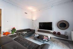 Salón |  Proyecto de reforma Bruc | Standal  #reformaintegral #reformas #Barcelona #Standal #decoración #interiorismo #sala #salón #mobiliario #sofás #mesas #lamparas #espejos