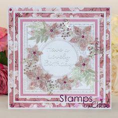 Stamps By Chloe - Layered Flower Frame - CraftStash
