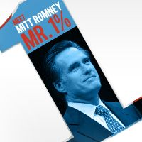 Meet Mitt Romney: Mr. 1%. He got rich cutting jobs and bankrupting companies. Now he wants to help people like him get richer, while hurting the rest of us.