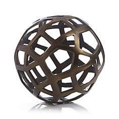 View larger image of Geo Large Decorative Metal Ball
