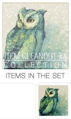"""Collection Cover- Item Cleanout #3"" by dream-girl-icons ❤ liked on Polyvore featuring art"