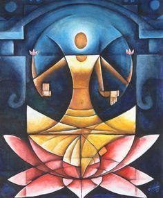 laksmi - the goddess of abundance