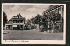 tolle AK Steenwijk, Ooosterpoort m. Stationsweg 1941