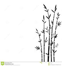 Bilderesultat for bamboo tree black and white