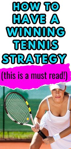 Having a solid tennis strategy is just as important as being able to hit awesome groundstrokes and serves. Learn ways to improve your tennis strategy so that you can win more matches this tennis season.