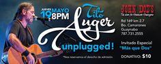 Tito Auger Unplugged @ John Doe's #sondeaquipr #titoauger #johndoes #guaynabo