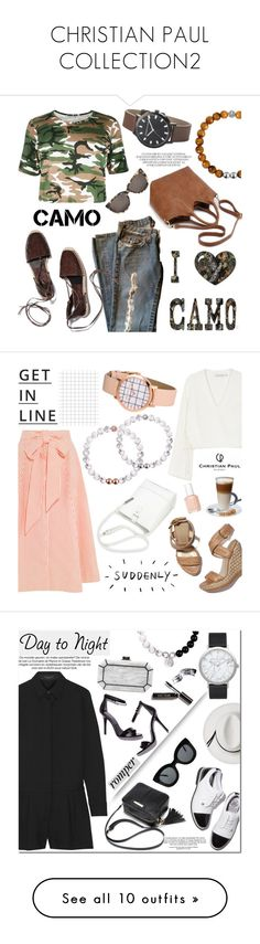 """""""CHRISTIAN PAUL COLLECTION2"""" by helenevlacho ❤ liked on Polyvore featuring christianpaul, Prism, contestentry, camostyle, christianpaulwatches, Lisa Marie Fernandez, Finders Keepers, Stuart Weitzman, Lipsy and Essie"""