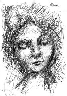 'Portrait einer jungen Frau' von David Joisten bei artflakes.com als Poster oder Kunstdruck $6.48