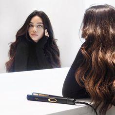 Who else uses their straightener to curl their hair? Blond, Janice Joostema, Mixed Hair, Let Your Hair Down, Hair Affair, Models Makeup, Curled Hairstyles, Dark Hair, Hair Looks