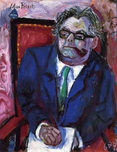 "Otto Dix, Gera, Germany (1891-1969). German painter and printmaker. New Objectivity (Neue Sachlichkeit). ""Wilhelm Heinrich""."