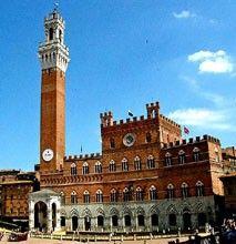 Palazzo-Pubblico, torre con vista panorámica