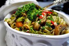 Cooking with Zoki: Pečeno povrće i pasta
