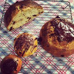 Pão de chocolate da Paola