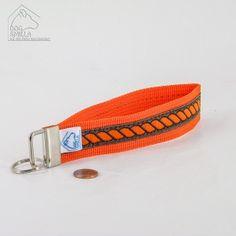 """Schlüsselanhänger """"Kordel"""", orange  8,90€"""