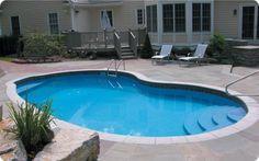 small inground pool photo gallery | Inground Pool Builder NJ