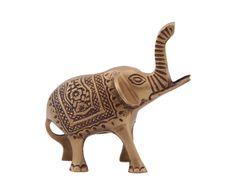 """Статуэтка """"Слон"""" - латунь - золотой - В12   Westwing Интерьер & Дизайн Elephants, Lion Sculpture, Horse, Statue, Art, Art Background, Kunst, Horses, Performing Arts"""