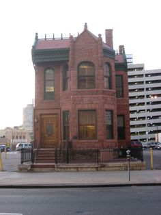 Curry-Chucovich House in Downtown Denver, Colorado