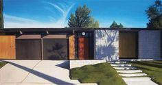 pinning for the LANDSCAPING Eichler Paintings by Danny Heller | Visualingual