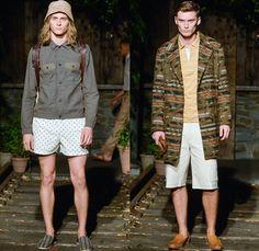 b78adb88685f Billy Reid 2014 Spring Summer Mens Runway Collection - New York Fashion  Week - Southern Style