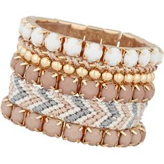 8af589b8d75 ALDO Bijou bracelet (8.875 CLP) ❤ liked on Polyvore Aldo Shoes