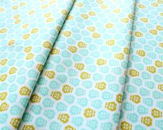 Cloud9 Fabrics Vignette 149603 Ladybug Turquoise