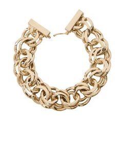 a classic gold chain link bracelet #MillionDollarShoppersHeather