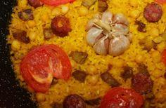 Auténtico arroz al horno que elaboraremos a partir de un completo cocido madrileño. Perfecto como plato único.