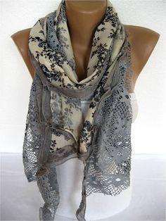 Trend Scarf Fashion Scarf  ShawlsScarvesGift by SmyrnaShop on Etsy