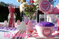 Valentine's Day Table Printables