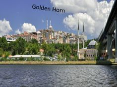 The Golden Horn (Altın Boynuz) - it is a major inlet of the Bosphorus, in Istanbul. It is known as historic place of Istanbul, Turkey.