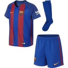 cfd74f0ab6064 New NIKE Barcelona Home Little Boys Kit 2016   2017 online. Enjoy the  absolute best in MadSportsStuff girls clothing from top store.