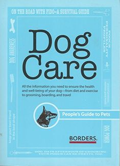 Dog Care Peoples Guide -- You can find out more details at the link of the image. (Note:Amazon affiliate link) #DogCareandHealth