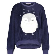 Robin Fleece Sweater - Tops & T-shirts - Nightwear