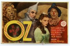 THE WIZARD OF OZ, with Judy Garland