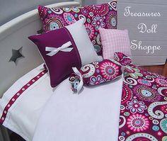 American Girl Doll Bedding