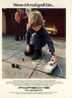 Werbung damals - Porsche Club für den klassischen 911 Südwest e.V.