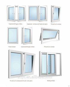 Desranka Pf 80 Casement Windows, Sliding Windows Clear Window