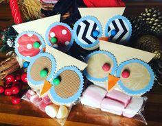 Deliziosi gufetti porta dolcetti! Guenda