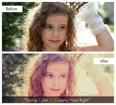 Spring Color Flare & Haze for Lightroom 4-5   Pretty Presets for Lightroom