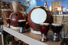 Fair Trade instruments from around the world at #Plowshare #FairTrade Marketplace in #Waukesha